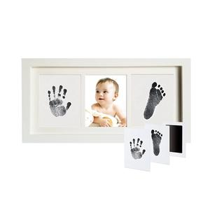 Photo-Frame Hand-Footprint Newborn Souvenir Gift Baby Shower Growth-Record Creative