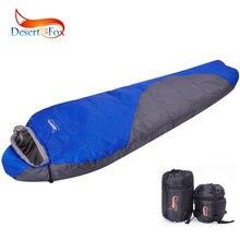 Спальный мешок desert & fox mummy зимний хлопковый теплый спальный