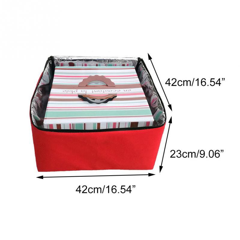caixa vermelha portátil alimentos frescos força recipiente