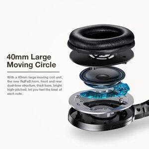 Image 2 - SANLEPUS nowe słuchawki bezprzewodowe zestaw słuchawkowy Bluetooth składane słuchawki Stereo Gaming słuchawka z mikrofonem na PC telefon komórkowy