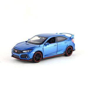 Image 4 - 高シミュレーション絶妙なdiecastsおもちゃ車: miniauto車スタイリングホンダシビックタイプr 1:32合金ダイキャストモデルベストギフト