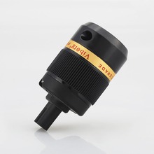 Viborg Ses saf bakır Yok Kaplama Güç Kablosu Şekil 8 IEC C7 Fişi hifi IEC Dişi elektrik fişi konnektör adaptörü