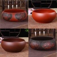 중국 스타일 보라색 클레이 차 워시 차 세트 액세서리 차 컵 주전자 차 워시 그릇 용품|숙우|   -