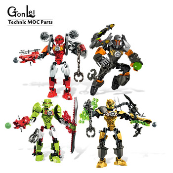 Hero Factory 3.0 ROCKA BULK Furno Breez Building Blocks Bricks Model Compatible with Bionicle Robot Collection DIY Toys Kid Gift image