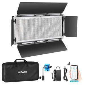 Image 1 - Neewer 1320 LED Luce Video con APP Sistema di Controllo Intelligente, dimmerabile 3200K 5600K Bi Fotografia a Colori Kit di Illuminazione