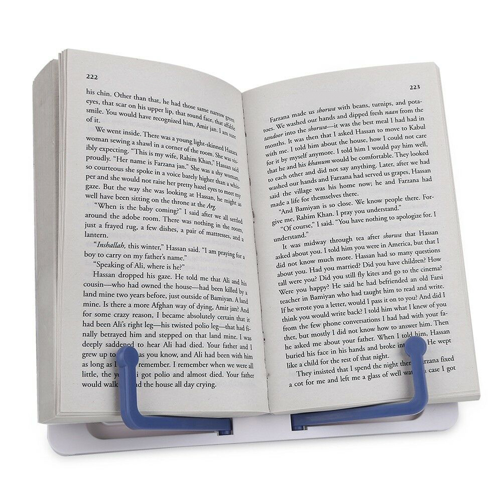 Popular Folding Adjustable Desktop Sheet Music Stand Holder Table Top Cook Book Stand
