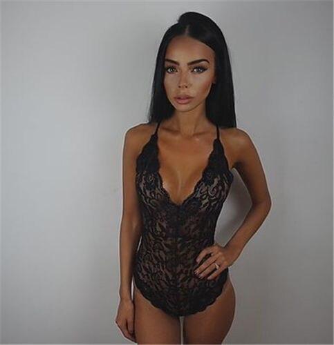 Sexy Womens Lingerie Plus Size Lace Babydoll Underwear Lace Body Suit Lingerie Dress Sleepwear Hot Sale