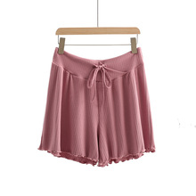 Short Underpants Maternity-Legging Pregnant-Women Summer Thin Waist for Home-Wear Drawstring