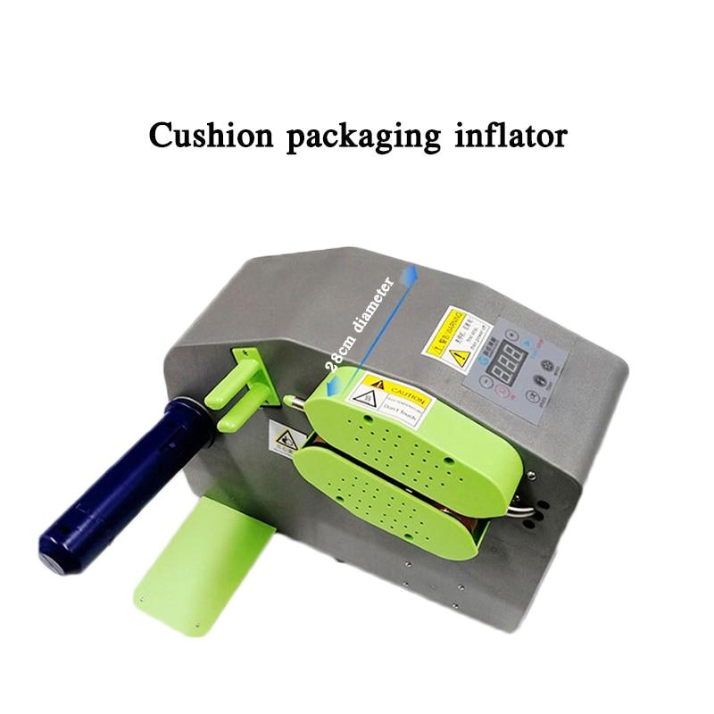 Automatyczna poduszka maszyna do poduszek powietrznych poduszka pakująca maszyna do poduszek powietrznych gurda filmowa torebka bąbelkowa inflator 110-220V