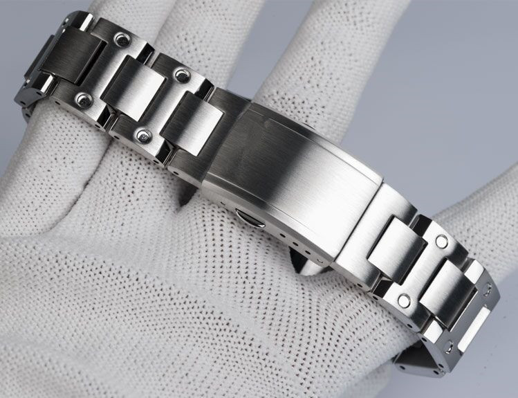 Generic GX-56 GXW-56 Stainless Steel Classical Style Watch Bezel Watch Band Select Color For Watch Replacement