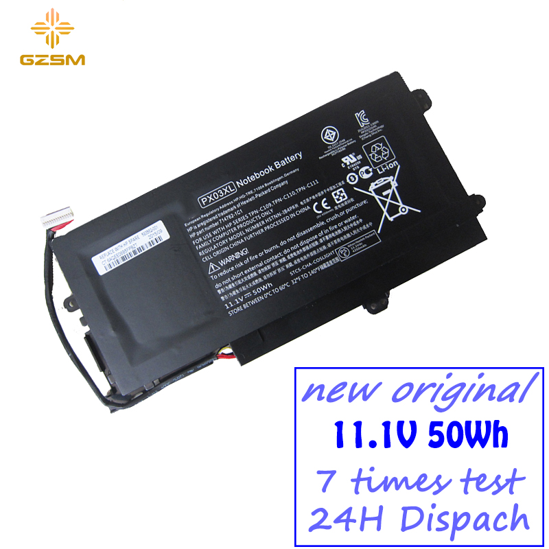 PX03XL Laptop Battery For HP ENVY TOUCHSMART M6-K010dx Envy M6 K022dx HSTNN-LB4P 714762-1C1 TPN-C109 TPN-C110 TPN-C1111 Battery