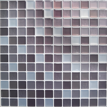 Mosaic Wall Tile Peel and Stick  Self adhesive Backsplash DIY Kitchen Bathroom Home Wall Sticker Vinyl 3D 10
