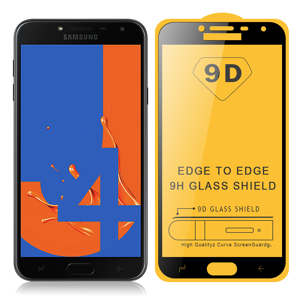JONSNOW 9D Tempered <font><b>Glass</b></font> for <font><b>Samsung</b></font> J4 <font><b>2018</b></font> J4 Plus J415F <font><b>Glass</b></font> on J6 <font><b>2018</b></font> J6 Plus J610F Full Screen Protective Film image