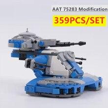 Novo aat 75283 modificação star space wars série assalto blindado tanque modelo MOC-53017 blocos de construção tijolos miúdo brinquedo diy presente