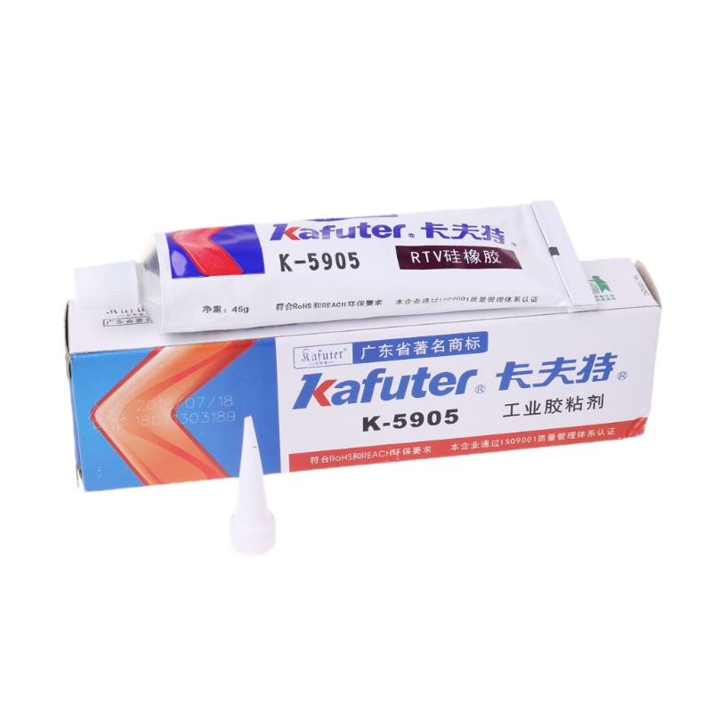 Industrial Adhesive Transparent Sealant Paste RTV Silicone Rubber