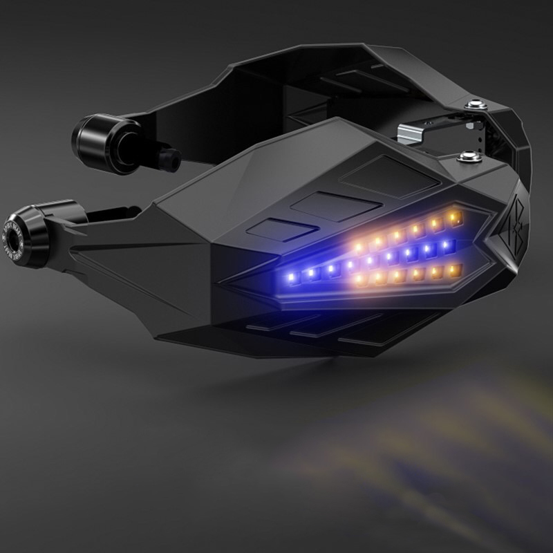 <font><b>LED</b></font> Motorcycle handguard Windshield Motocross Hand Guards For suzuki tl1000r yamaha fz8 yamaha valentino rossi bmw <font><b>r1200rt</b></font> image