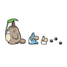 Funny Car Sticker Cartoon Totoro Oak Seeds Decals Cover Scratches for Motorcycle Bumper Decoration Car Accessories KK12*6cm
