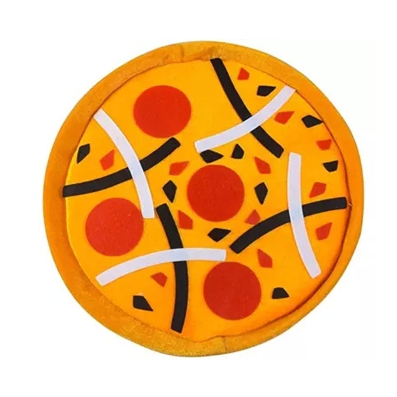 New Novelty Funny Pizza Hat Crazy Hat Party Costumes Joke Photo Props Kids Toy  Q6PD
