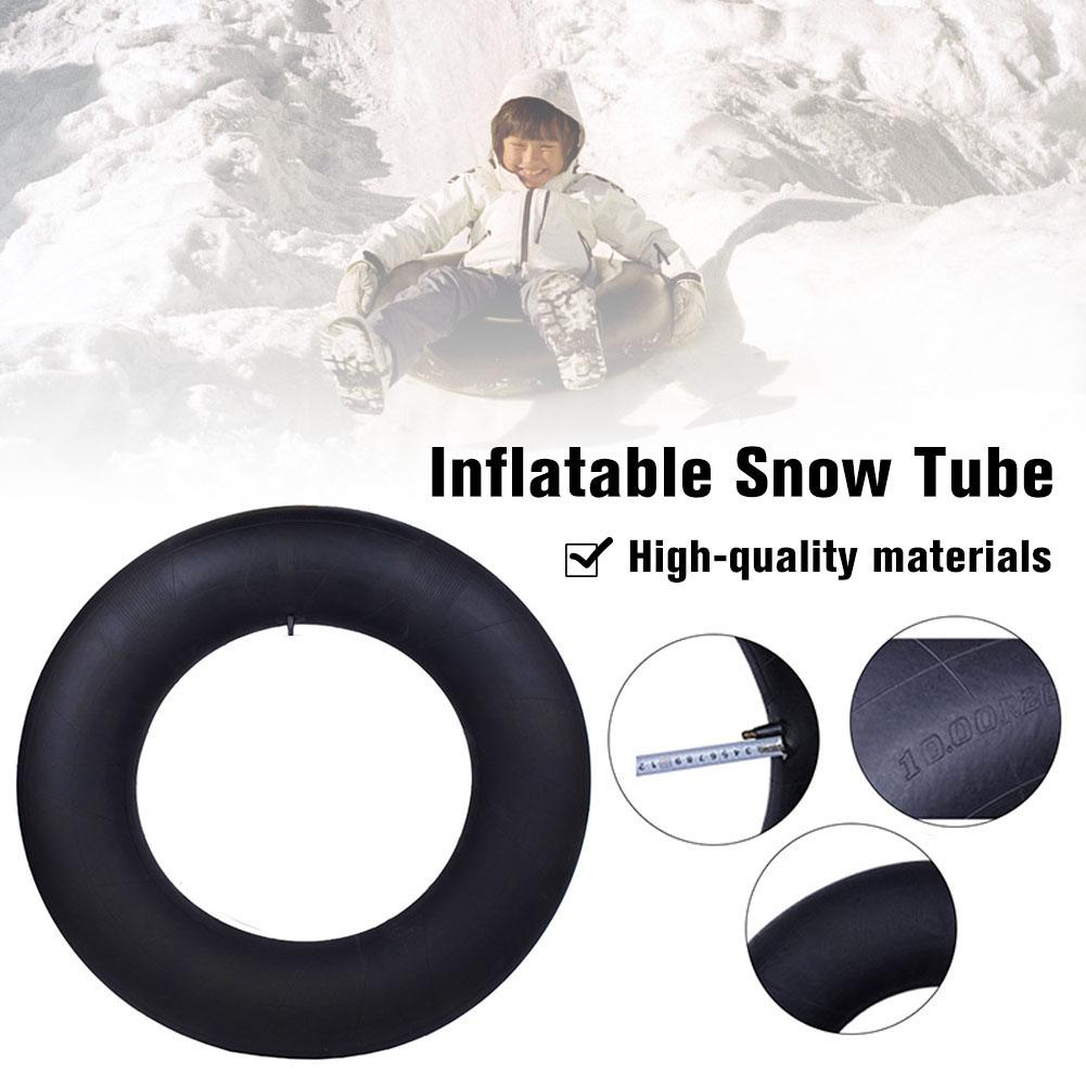 Outdoor Sports Heavy Duty Skiing Boards Sled Snow Tube For Kid Inflatable Snow Tire Slippery Grass Sand Board Ski Pad Snowboard