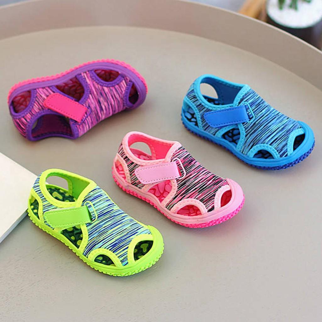 Summer Children Shoes Casual SandalsKids Baby Girls Boys Beach Non slip Outdoor Sneakers Sandals Shoes сандали детские