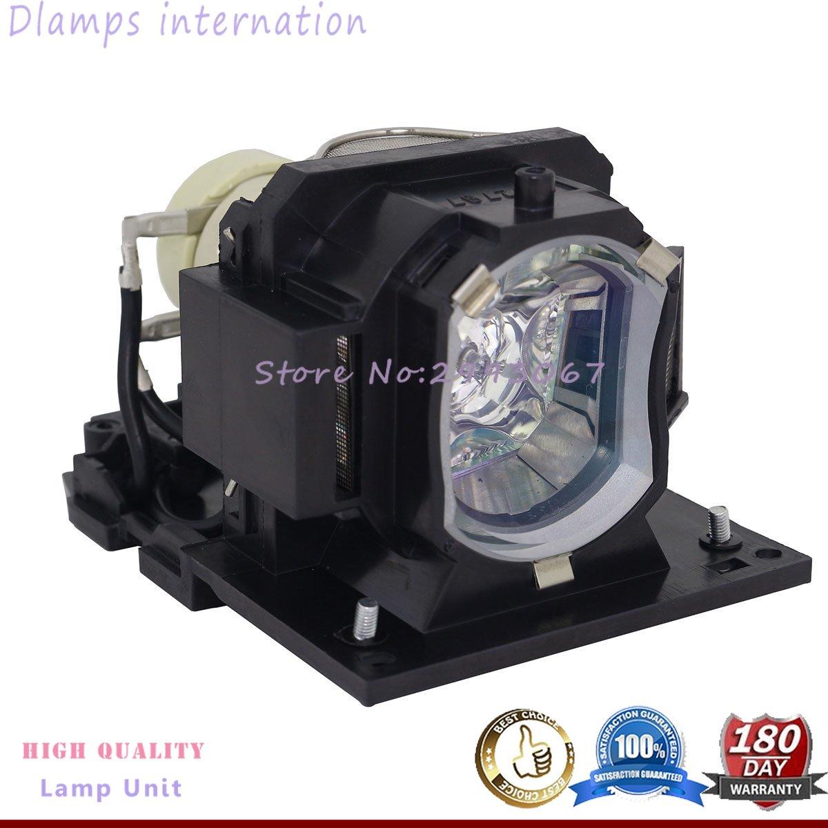 DT01431 Projector Lamp For Hitachi CP-EW301N CP-EW302 CP-EX251N EX252N EX301N EX401 WX3030 WX3030WN Dukane ImagePro 8928A 8931WA