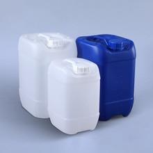 גבוהה באיכות 10 ליטר stackable פלסטיק ג רי יכול לקרם נוזלי מזון כיתה ריק HDPE תופים Leakproof בקבוק 1PCS