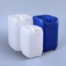 عالية الجودة 10 لتر تكويم البلاستيك جركن لوشن السائل الغذاء الصف فارغة HDPE الطبول مانعة للتسرب زجاجة 1 قطعة