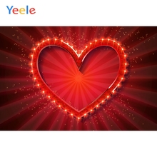 Yeele Wedding Ceremony 3D Heart Wall Stripes Decors Photography Backdrops Personalized Photographic Backgrounds For Photo Studio