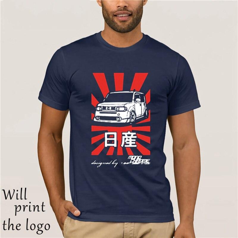 T-shirt Nissan Cube Z12 High Quality Men Cotton Fashion Short Sleeve Men T-shirts