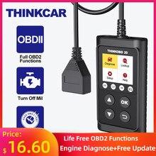 Thinkcar thinkobd 20 obd 2 scanner profissional carro ferramenta de diagnóstico automático leitor código automotivo verificar a luz do motor dtc lookup