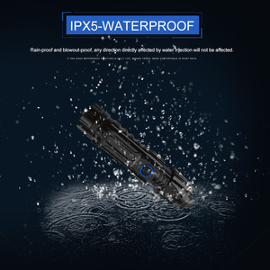 Image 4 - 5 מצב XHP90.2 עוצמה LED פנס רכיבה שיירת אור 50000lm פנס טקטי קמפינג Waterproof פנס לפיד בריחה