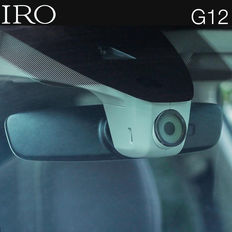 Видеорегистратор IRO для Volkswagen и Skoda, автомобильная WDR-камера с акселерометром, 24 часовым мониторингом парковки, Wi-Fi