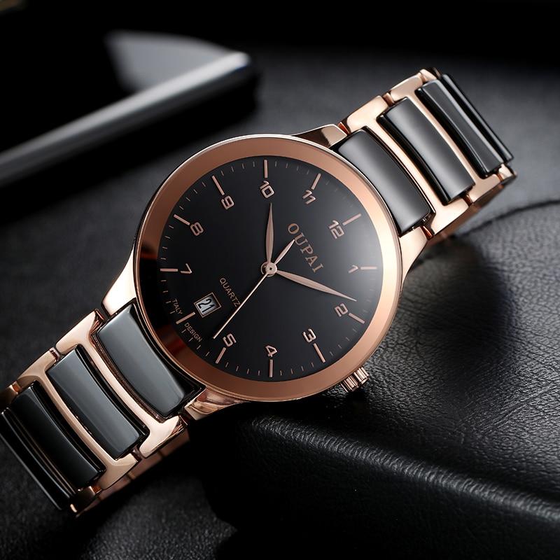 cerâmica luxo relógio de negócios homem resistência