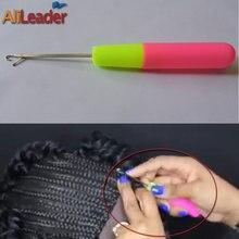 Agulha de gancho para cabelo, venda quente de 1/pçs, agulha de crochê, alta qualidade, tranças de cabelo, dreadlocks, ferramentas de decoração