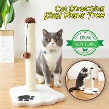 Corda de cânhamo moagem garra gato scratcher casa produtos para animais de estimação escalada gato árvore rame garra-ponto animal de estimação gato scratcher
