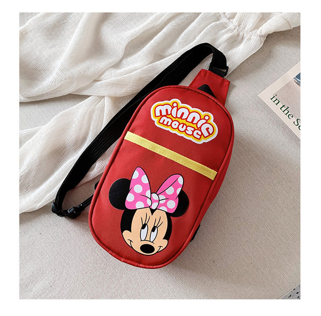 Disney nouveau Mickey mouse enfants décontracté minnie sac de messager garçon sac à bandoulière enfants dessin animé spiderman poitrine petit sac