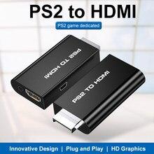 Venda quente macho parágrafo fêmea exibição parágrafo hdmi conversor de ps2 áudio e vídeo conversor 3.5 milímetros adaptador hdmi parágrafo ps2