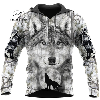 Wolf Printed Hoodies Men 3d Hoodies Brand Sweatshirts Jackets Quality Pullover Fashion Tracksuits Animal Streetwear Out Coat-12 plstar cosmos new 3d printed hoodies sweatshirts men women funny clothes pullover coat brand tracksuits suicide boy hoodies