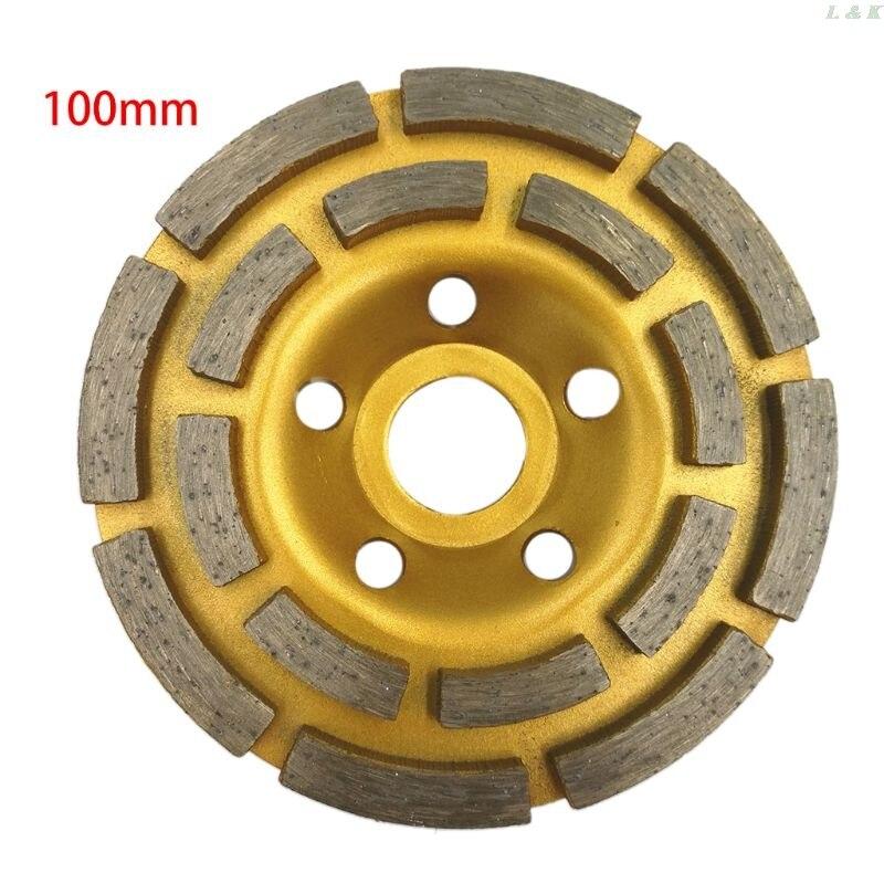 """6/"""" 150mm Diamond Segment Grinding Disc Grinder Disc For Grinder Concrete Granite"""