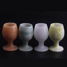 Натуральный нефритовый Кубок белый нефрит Lantian Jade Guizhou Cui закат чашка красная Нефритовая поделка
