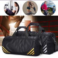 HobbyLane Men's and Women's Sports Travel Bag Shoulder Bag Portable Large Capacity Waterproof Ladies Handbags Luggage Yoga Bag