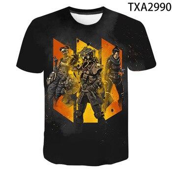 2020 New 3D T Shirts Casual Boy girl Kids Apex Legends Fashion Streetwear Printed T-shirt Men Women Children Cool Tops Tee 1