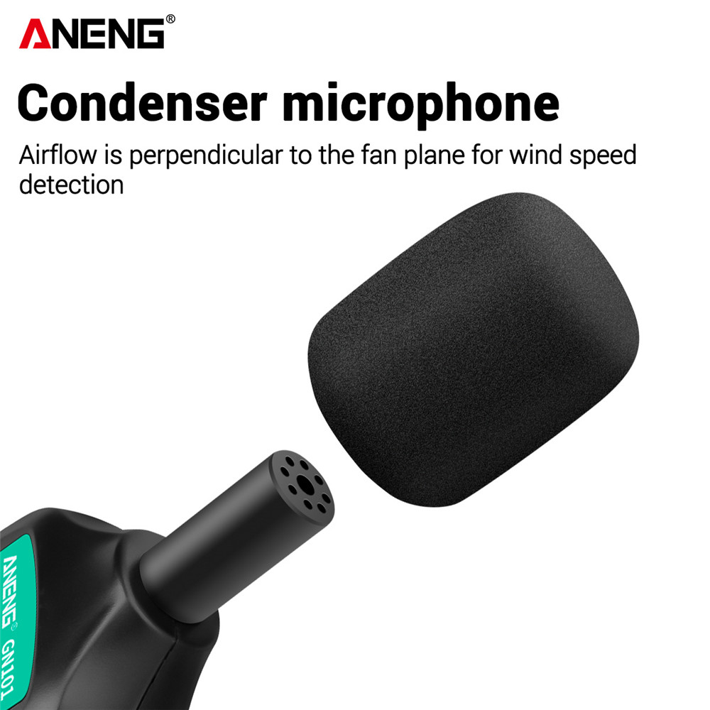 Tool 35 Logger Noise  Decibel ANENG Sound GN101 Db Monitor 135 Digital Diagnostic Meter Level Measurement Meter Intelligent