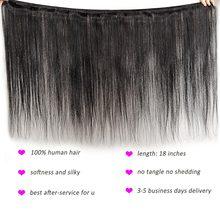 Straight Bundles Hair Weave Extensions