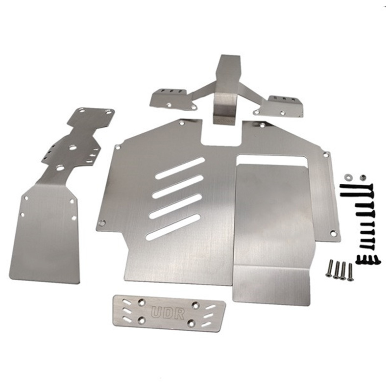 Metal Axle Protection Armor Chassis Armor for 1/7 Traxxas Unlimited Desert Racer UDR