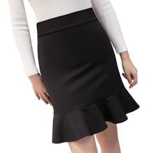 Winter and Summer Style Casual Women Skirt Elastic Faldas Ladies Black Midi Skirts Sexy Girl Mini Short Skirts Saia Feminina