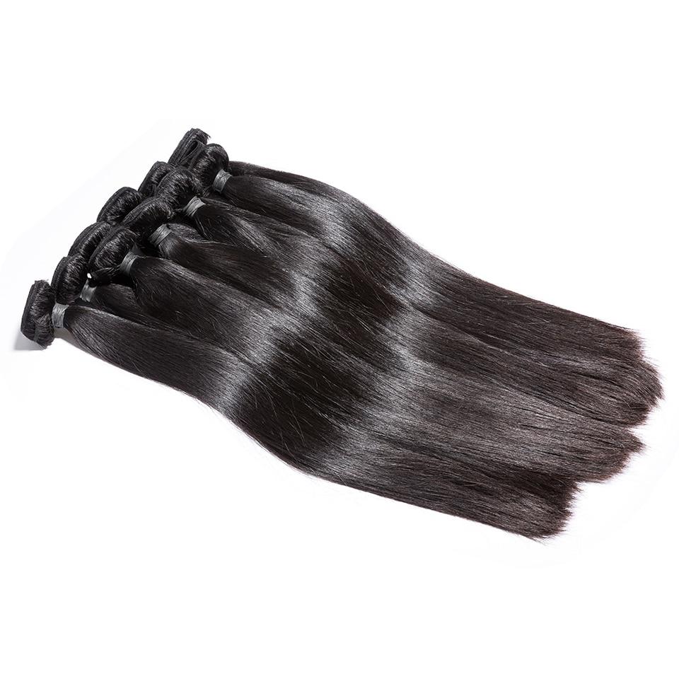 Wholesale  Straight Hair Bundles Long  Bundles 30 32 24 36 38inch   Bundles Natural Color 2