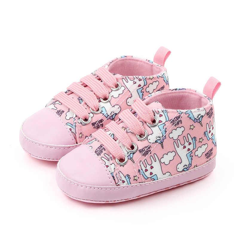 חדש חמוד Unicorn תינוק נעלי סניקרס רך תחתון אנטי להחליק ילדים פעוט נעלי תינוק ילד ילדה נעלי בנות ראשון הליכונים