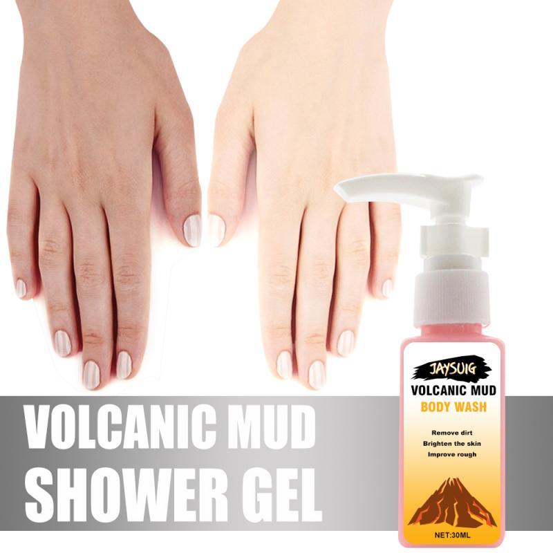 Loyal Fast Delivery Volcanic Mud Shower Milk Body Wash Whitening Deep Cleansing Skin Care Moisturizing Exfoliating Gel 30ml Tslm1