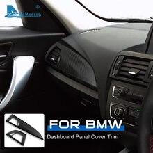 FLUGGESCHWINDIGKEIT Carbon Fiber RHD für BMW F20 F21 F22 1 2 Serie Zubehör Interior Trim-Dashboard Panel Abdeckung Aufkleber Auto styling